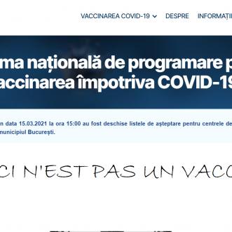 Ceci n'est pas un vaccin! Despre turism, digitalizare și eșecul vaccinării